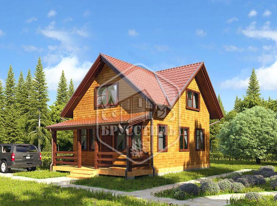 Проект дома из бруса 6х8,5 БК-26