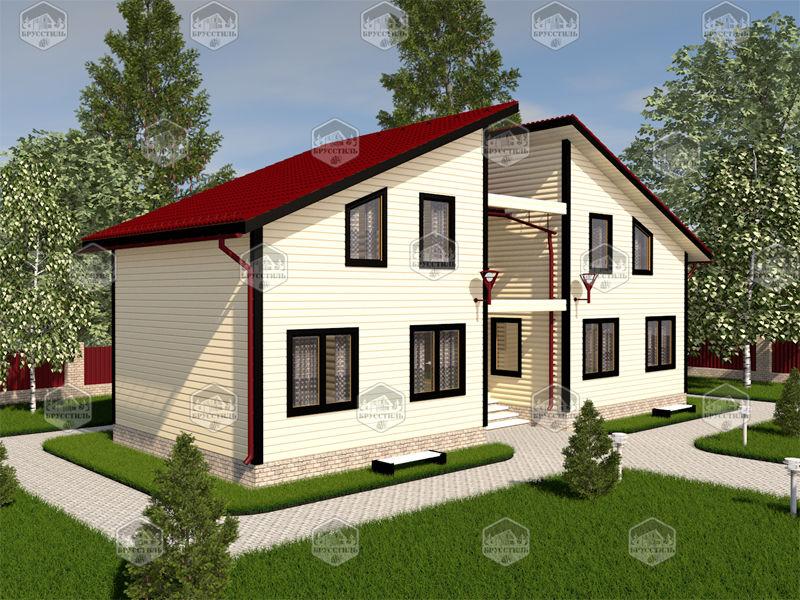 Проект дома из бруса 6х15 MT-22